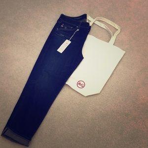 AG Ex- Boyfriend Slim slouchy Sam jeans